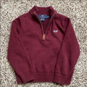 EUC Vineyard Vines Half Zip Sweater 2T/3T